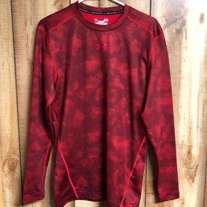 Under Armour Cold Gear Compression Camo shirt L